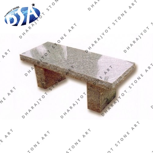 Brown Granite Simple Bench