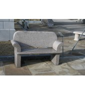 Grey Granite Seating Bench