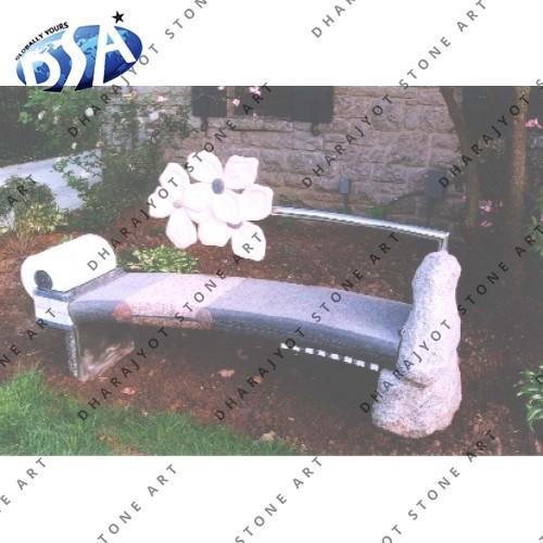 Antique Granite Bench