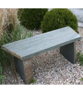 Backless Outdoor Bench