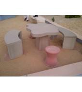 Garden Sandstone Furniture Table Bench