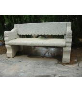 Granite Bench With Backed