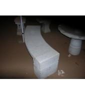 Granite Build Garden Bench