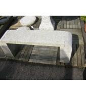 Granite Indian Bench