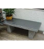 Granite Outdoor Bench