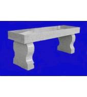 Granite Patio Seating Bench