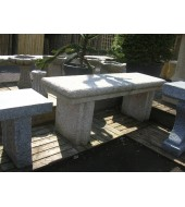 Lovely Granite Stone Bench