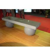 Marble Round Leg Granite Seat Bench