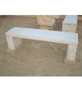 Marble Simple Bench