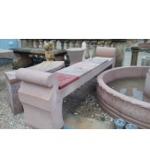Outdoor Sandstone Bench For Decoration