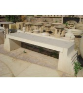 Outdoor Seating Sandstone Garden Bench
