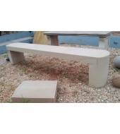 White Sandstone Long Seat Bench