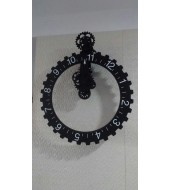 Antique Black Frame Clock
