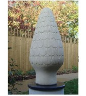 Decorative Sandstone Roof Finials