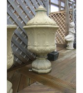 Hand Carved Sandstone Finials Design