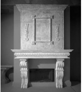 Antique Marble Chimney Cap