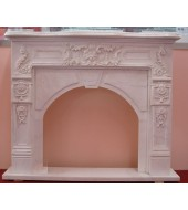 Antique Marble Fire Place