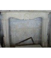 Antique Sandstone Fireplace