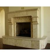 Yellow Stone Fireplace