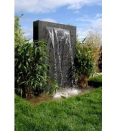 Grey Sandstone Garden Fountain