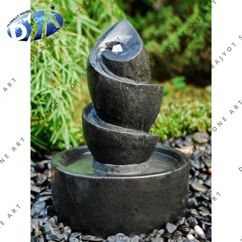 Black Marble Table Fountain