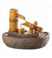 Sandstone Antique Wooden Fountain