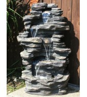 Grey Table Stone Fountain