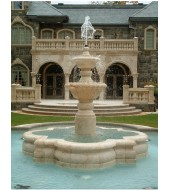 American Sandstone Fountain