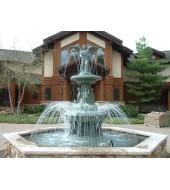 Blue Granite Fountain For Garden