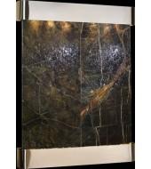 Screen Wall Granite Fountain