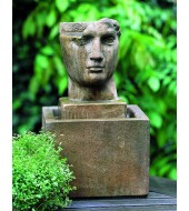 Small Antique Face Sculpture Fountains