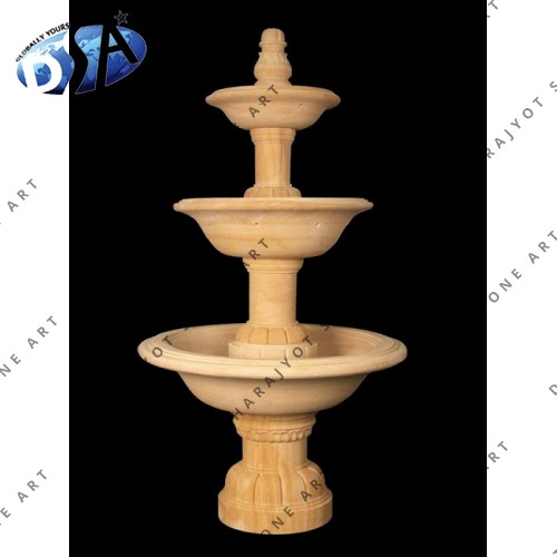 Stone Tiered Water Fountains