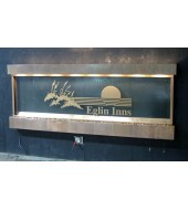 Wall Name Plate Water Fountain