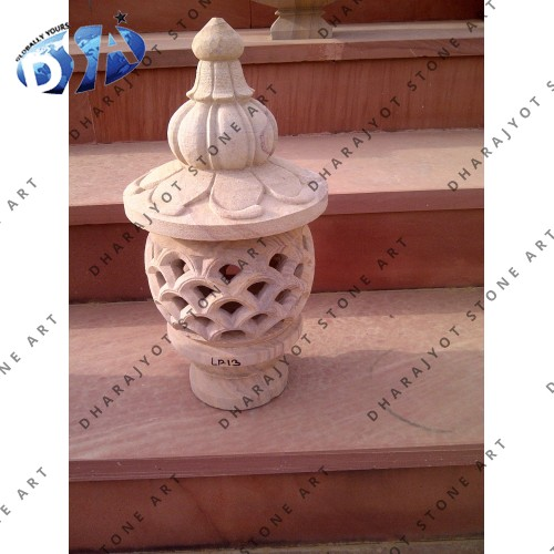 Carved Marble Lanterns Japanese