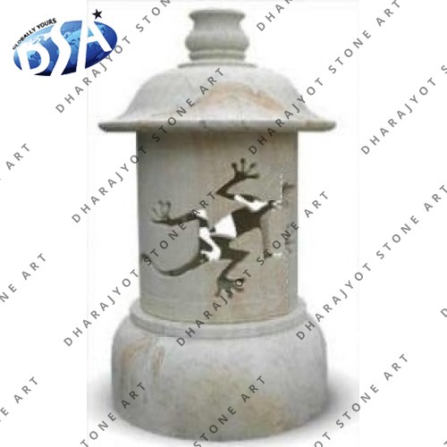 Garden Marble Ornaments Lamp