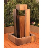 Marble Patio Water Fountains Backyard