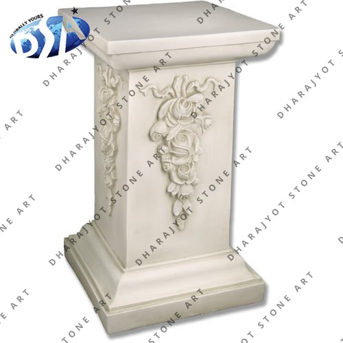 Sandstone Garden Pedestal