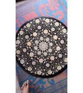 Black Marble Antique Design Inlay