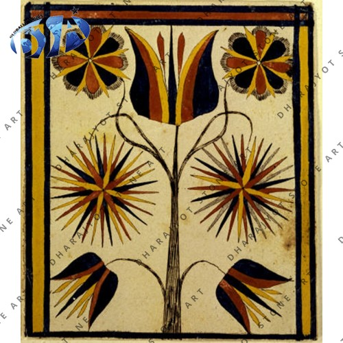 Agra Design Marble Inlay Pattern