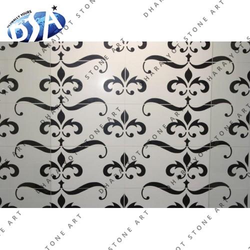 Agra Floor Marble Designs Inlay