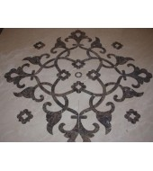 Agra Inlay Floor Designs