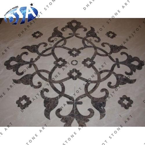 Agra Inlay Floor Designs