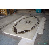 Water Jet Marble Designs Inlay