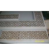 Waterjet Inlay Pattern Tiles