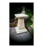 Yellow Antique Sandstone Pedestal