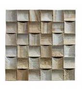 Light Sandalwood Coloured Natural Stone Mosaic