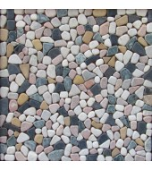 Multicolour Pebble Mosaic