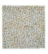 Mint Shards Of Natural Stone Mosaic