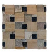 Different Textures Of Natural Stone Mosaic
