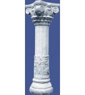 Carved Granite Pillar